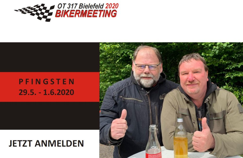 RT-/OT-/LC-/TC-Bikermeeting 2020
